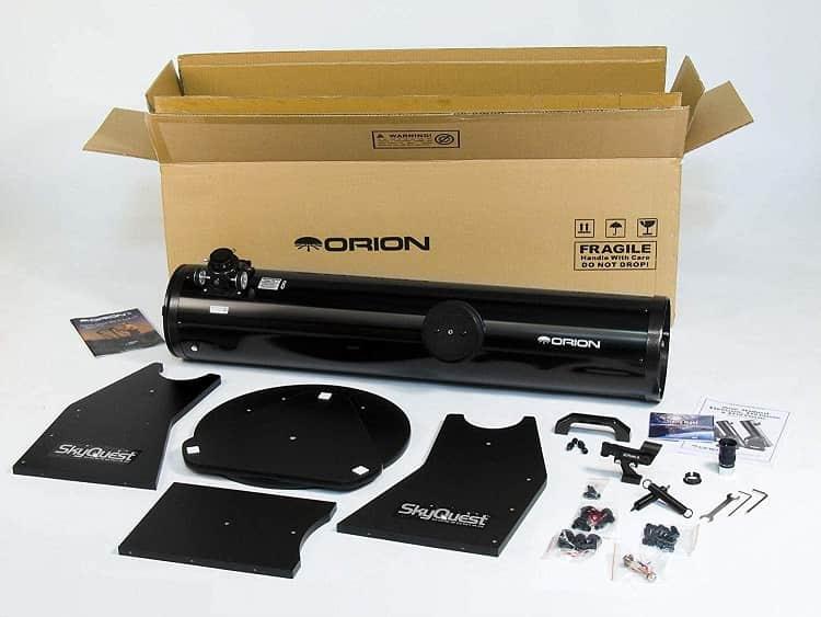 Orion skyquest xt test dobson teleskop für wenig geld kaufen